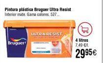 Oferta de Pintura plástica Bruguer por 29,95€