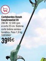 Oferta de Cortabordes Bosch EasyGrassCut 23 por 39,95€