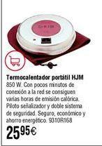 Oferta de Termocalentador portatil HJM por 25,9€