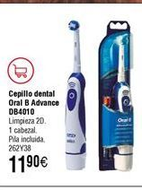 Oferta de Cepillo BRAUN Oral B Advance Power DB-4010 por 11,9€