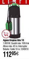 Oferta de Bomba drenaje HIDROBEX Vetax-1000 por 112,95€