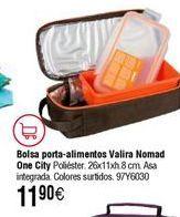 Oferta de Bolsa VALIRA porta alimentos Nomad One City por 11,9€