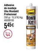 Oferta de Adhesivo de montaje UHU montakit  por 5,45€