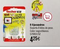 Oferta de Fijacuadros Fischer por 4,25€