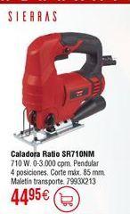 Oferta de Sierra caladora RATIO SR710NM por 44,95€