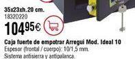 Oferta de Caja seguridad electrónica ARREGUI Ideal 10 por 104,95€