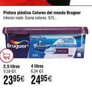 Oferta de Pintura plástica Bruguer por 24,95€
