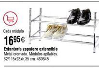 Oferta de Estanteria Zapatero extensible por 16,95€