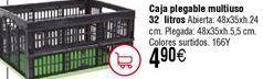 Oferta de Caja plegable multiusos por 4,9€