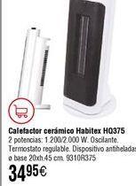 Oferta de Calefactor cerámico Habitex por 34,95€