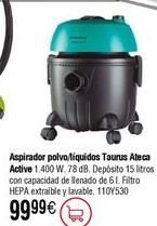 Oferta de Aspirador TAURUS Ateca Active por 99,99€