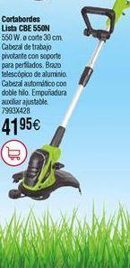 Oferta de Cortabordes eléctrico LISTA CBE 550 N por 41,95€