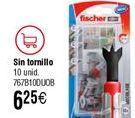 Oferta de Taco FISCHER Duoblade sin tornillo por 6,25€