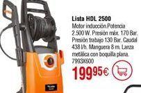 Oferta de Hidrolimpiadora LISTA HDL 2500 por 199,95€