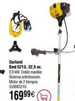 Oferta de Desbrozadora gasolina GARLAND best 521 por 169,99€
