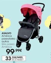 Oferta de Silla paseo América Asalvo por 99,99€