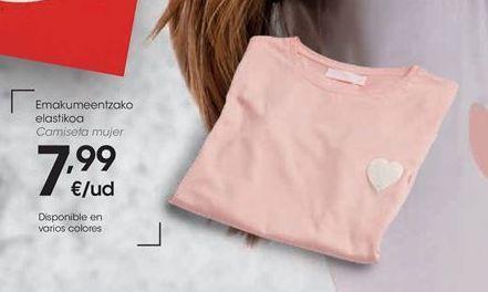 Oferta de Camiseta mujer por 7,99€