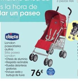 Oferta de Silla paseo London Chicco por 76€
