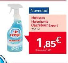 Oferta de Multiusos higienizante carrefour expert por 1,85€