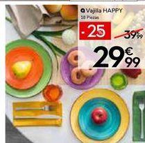 Oferta de Vajilla por 29,99€