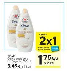 Oferta de Gel de baño Dove por 3,49€