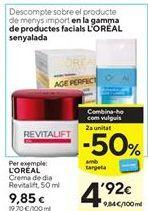 Oferta de Crema de día L'Oréal por 9,85€