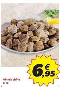 Oferta de Almeja chirla  por 6,95€