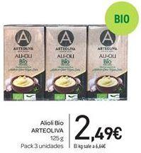 Oferta de Alioli Bio ARTEOLIVA  por 2,49€