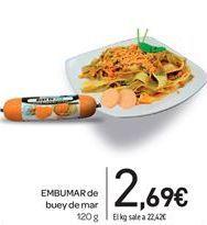 Oferta de EMBuMAR de buey de mar por 2,69€
