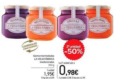 Oferta de Gama mermelada LA VIEJA FÁBRICA tradicional  por 1,95€