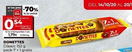 Oferta de Donuts por 1,79€