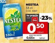 Oferta de Té helado Nestea por 0,5€
