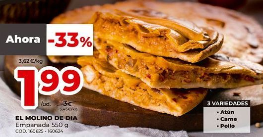 Oferta de Empanada por 1,99€