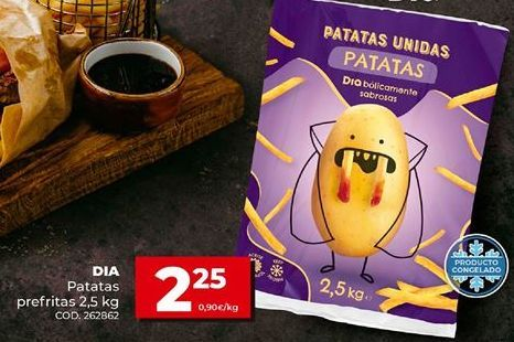 Oferta de Patatas fritas Dial por 2,25€