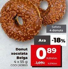 Oferta de Donuts por 0,89€