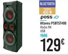 Oferta de Altavoz PSBTST400 POSS por 129€
