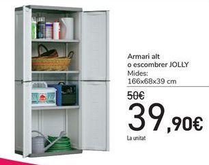 Oferta de Armario alto o escobero JOLLY por 39,9€
