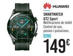 Oferta de SMARTWATCH GT2 Sport HUAWEI por 149€