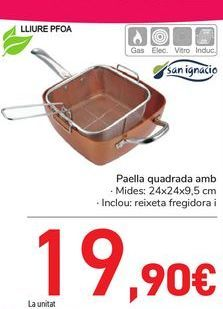 Oferta de Sartén cuadrada con cestillo  por 19,9€