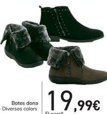 Oferta de Botas mujer  por 19,99€
