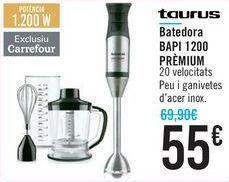 Oferta de Batidora BAPI 1200 PREMIUM Taurus por 55€