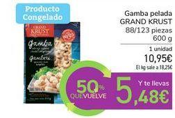 Oferta de Gamba pelada GRAND KRUST por 10,95€