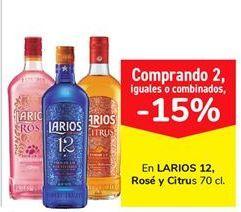 Oferta de En LARIOS 12 Rosé y Citrus  por