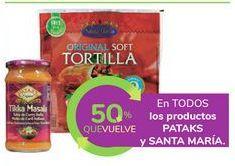 Oferta de En TODOS los productos PATAKS y SANTA MARÍA por
