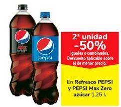 Oferta de En refresco PEPSI y PEPSI Max Zero azúcar  por
