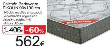 Oferta de Colchón Barlovento PIKOLIN 90x190 por 562€