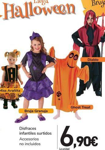 Oferta de Disfraces infantiles surtidos  por 6,9€