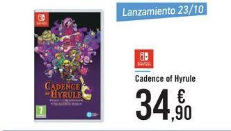 Oferta de Cadence of Hyrule  por 34,9€