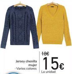 Oferta de Jersey chenilla mujer  por 15€
