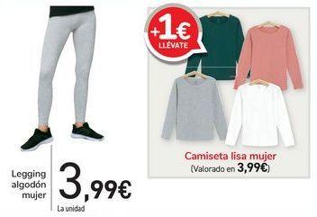 Oferta de Legging algodón mujer  por 3,99€